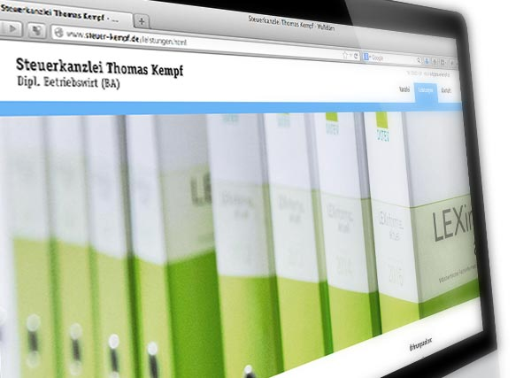 Steuerberater Kempf Web-Relaunch